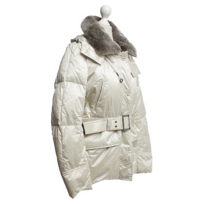 Peuterey Down jacket in cream
