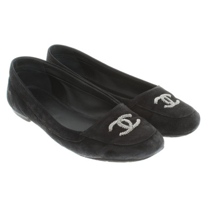 Chanel Slipper in black