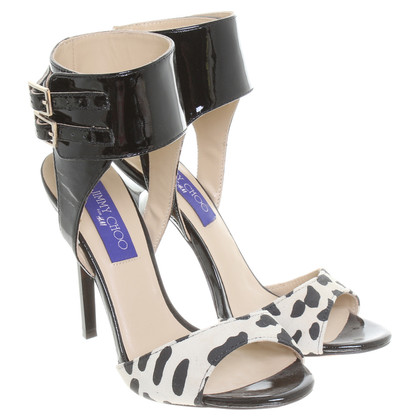 Jimmy Choo for H&M Peeptoes mit Animal-Print