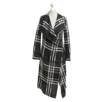 Escada Coat with striped pattern