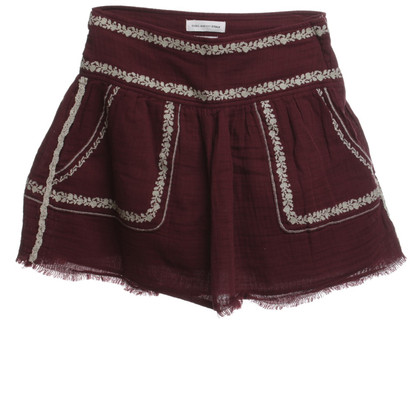 Isabel Marant Etoile skirt in Bordeaux