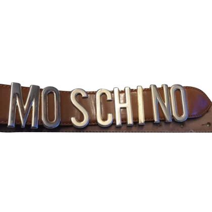 Moschino Cintura in Cognac