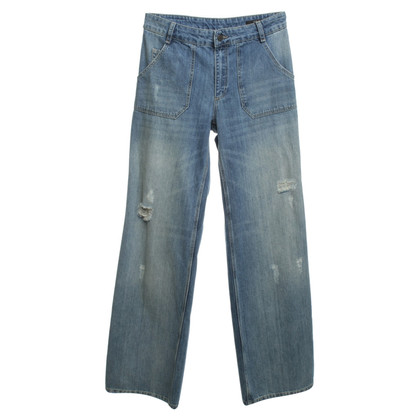 Set Jeans in Blau