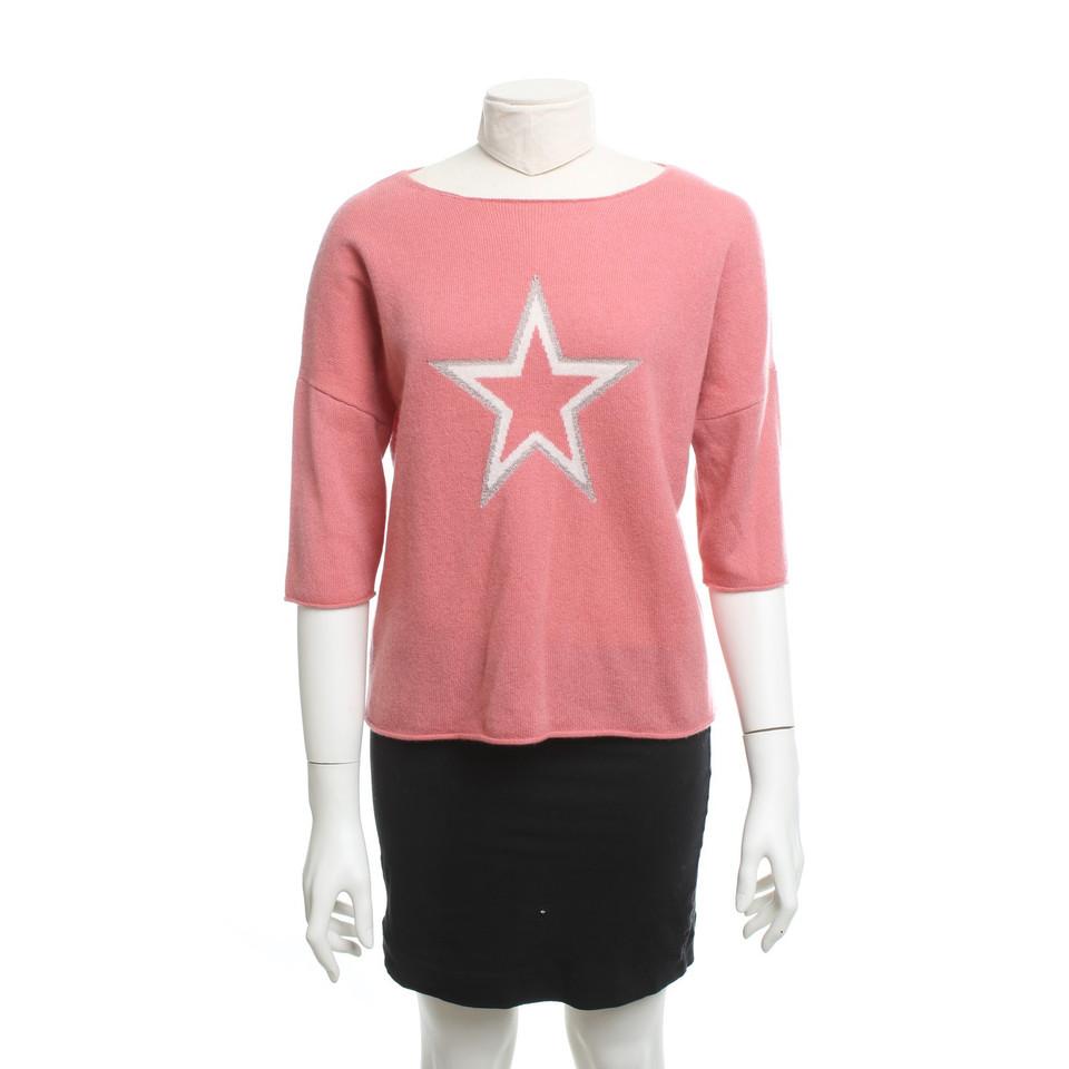 360 sweater kaschmir pullover mit motiv second hand 360. Black Bedroom Furniture Sets. Home Design Ideas