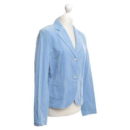 Escada Cord blazer in light blue
