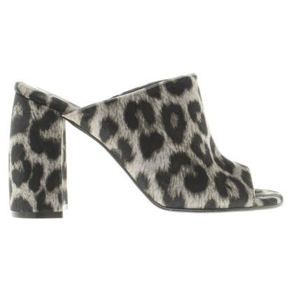 Stella McCartney Mules with leopard pattern