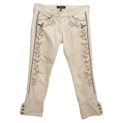 Isabel Marant 7/8-Jeans mit Stickerei