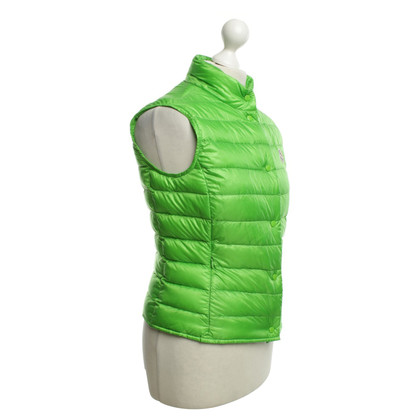 Moncler Down vest in green