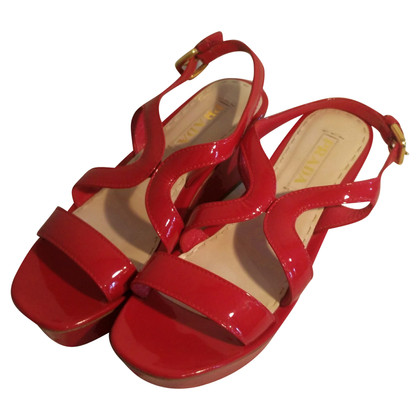 Prada sandali con plateau