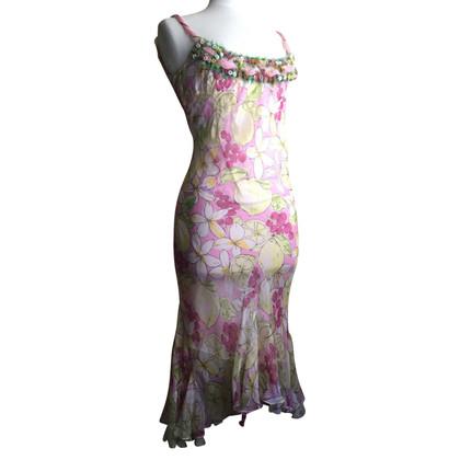 Blumarine zijden jurk