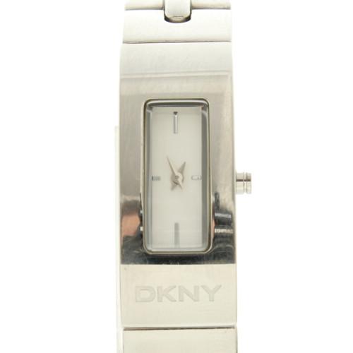 discount 024c9 5362d DKNY Orologio da polso in Acciaio in Argenteo - Second hand ...