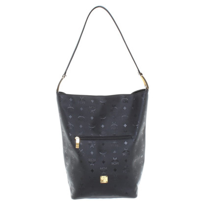 MCM Shopper in black