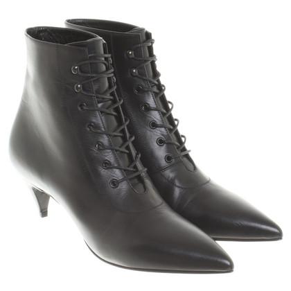 Saint Laurent Ankle boots with laces