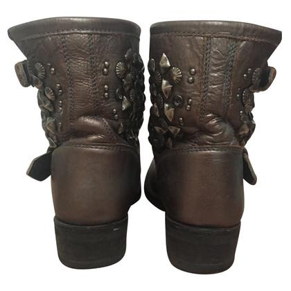 Ash Biker Boots