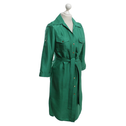 Carolina Herrera Silk dress in green