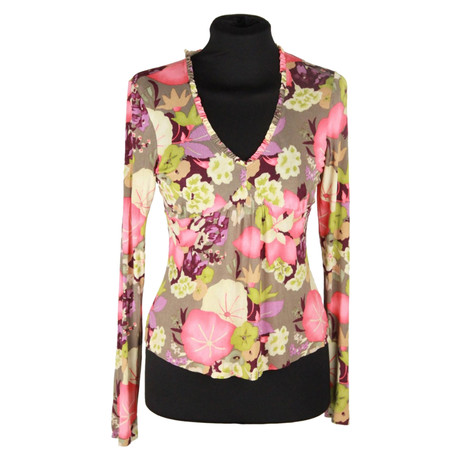 Etro Bluse Etro Andere mit Farbe Bluse Blumenmuster R17qRzw