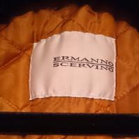 Ermanno Scervino Denim jacket with Fox Fur