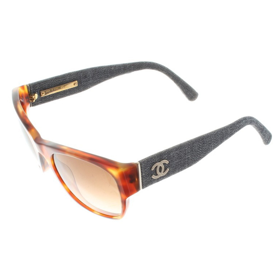 Chanel Tortoiseshell sunglasses - Buy Second hand Chanel ...