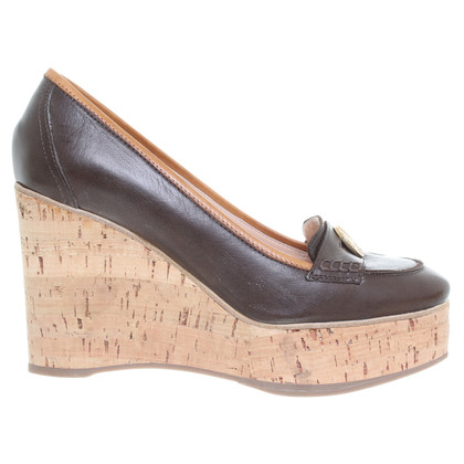 Chloé Plateau loafer Brown