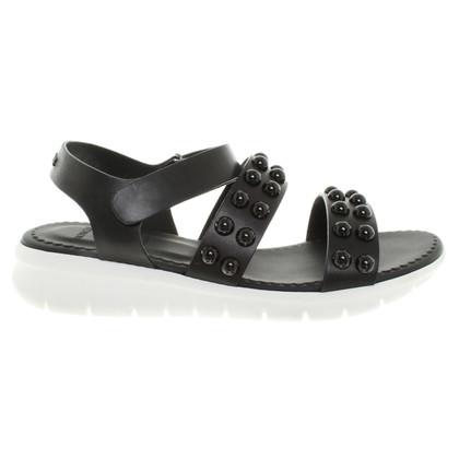 Moncler Sandalen in Schwarz
