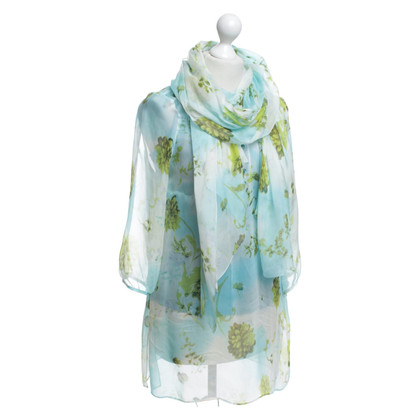 St. Emile Floral tunic with top & scarf
