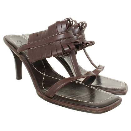 Escada High heel sandal in Brown