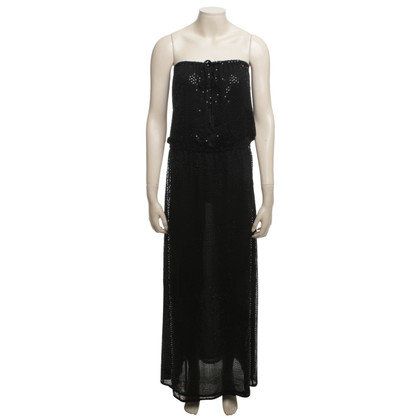 Armani Jeans Sequin Dress in zwart