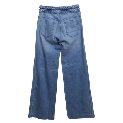 Sandro Jeans displayed in blue
