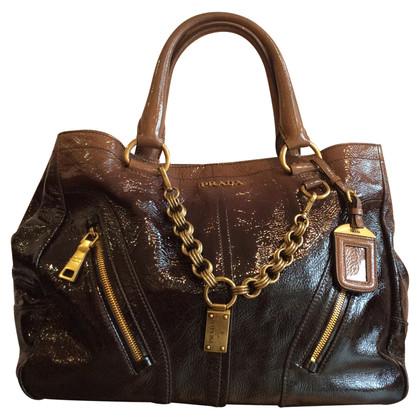 Prada Handtasche aus Lackleder