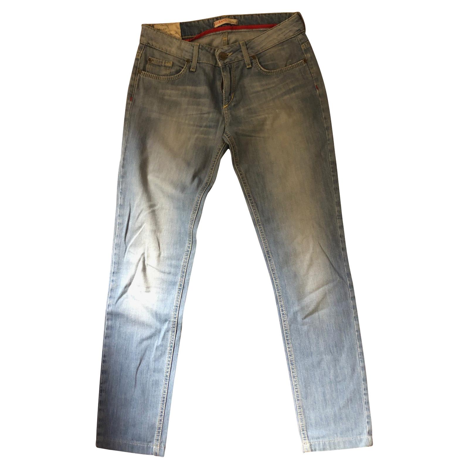Decir la verdad Culpa lotería  Liu Jo Jeans Cotton in Blue - Second Hand Liu Jo Jeans Cotton in Blue buy  used for 70€ (3947245)