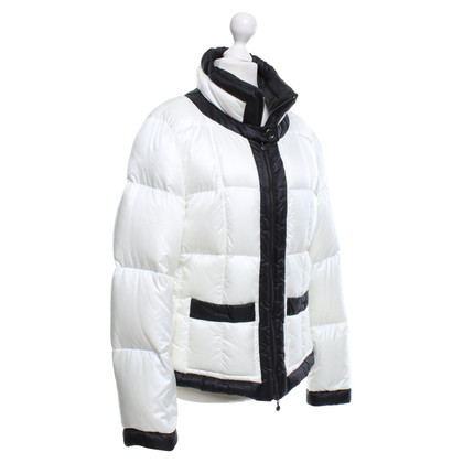 Marc Cain Down Jacket in Black / White