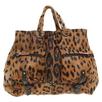 Jerome Dreyfuss Handbag with leopard print