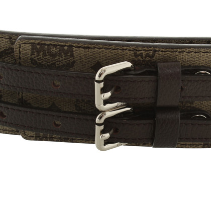 MCM Waist belt with logo design