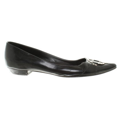 Christian Dior Slipper lakleer