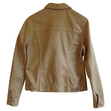 Closed giacca di jeans con effetto metallico