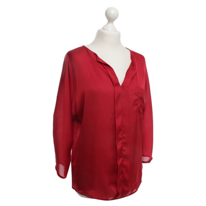 Cinque Blouse in red