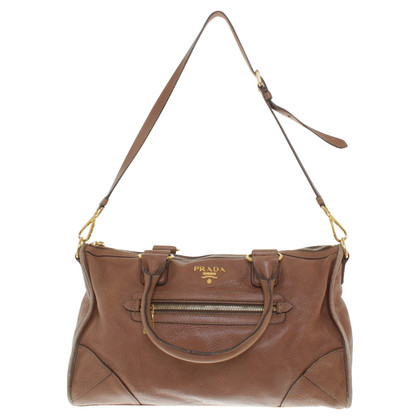 Prada Leather bag in brown