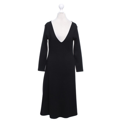 Ralph Lauren Black Label Wollkleid in Schwarz