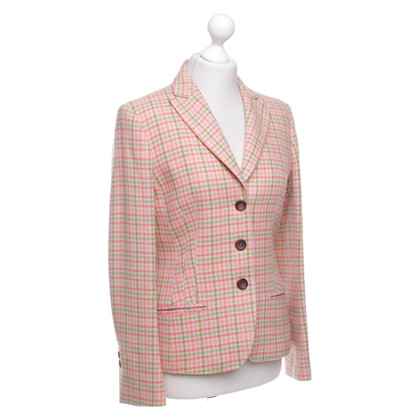 Windsor Blazer with check pattern