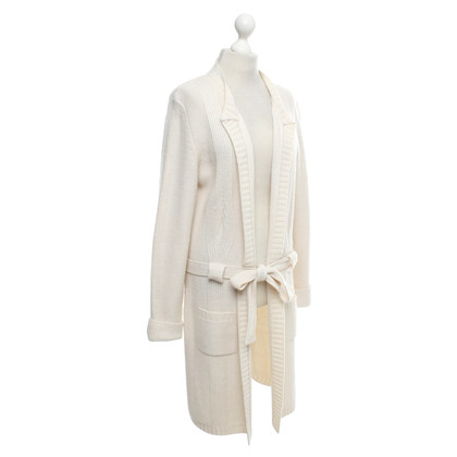 Marina Rinaldi Knitted coat in cream