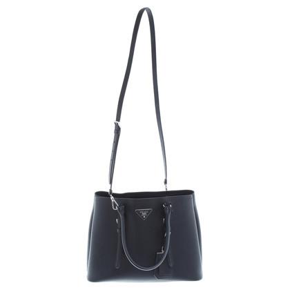 Prada Handtasche aus schwarzem Leder