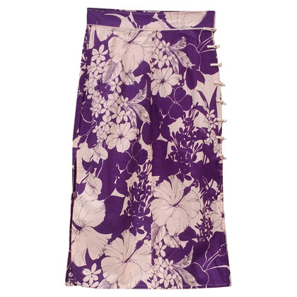 Miu Miu Rock mit floralem Print