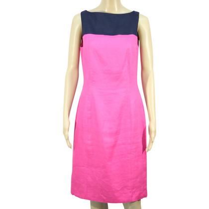 Ralph Lauren Linen dress in bicolour