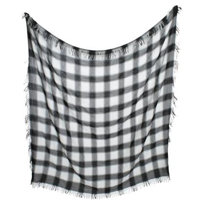 Gucci Tuch in Schwarz/Weiß