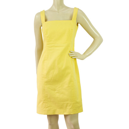 Other Designer Manolo - Mini Dress in Yellow