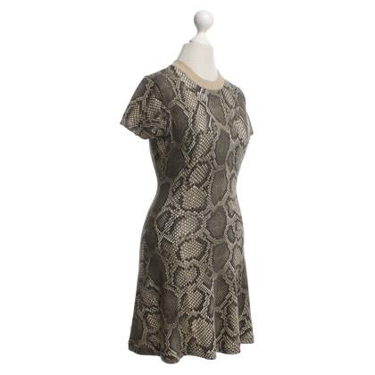 Michael Kors Kleid in Reptil-Optik