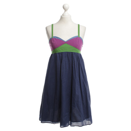 Tara Jarmon Cotton dress in blue / colored