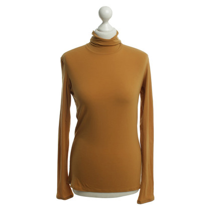Marc Cain Roll collar sweater in gold