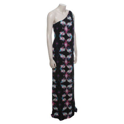 Halston Heritage Printed Maxi Dress