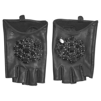 Karl Lagerfeld Handschoenen met strasssteentjes